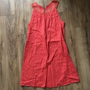 Gap coral dress size small